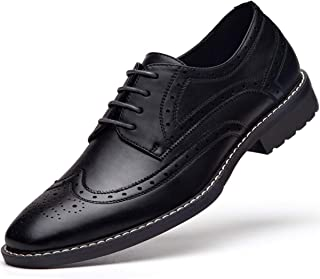 Men's Wingtip Dress Shoes Lace up Oxfords