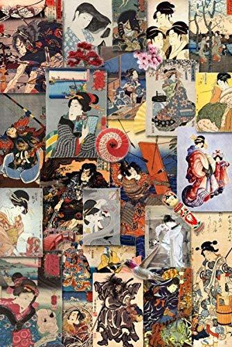lcyfg Houten puzzel van hoge kwaliteit 1000 stukjes Japanse kimono vrouw collectieVrije tijd decompressie kinderen volwassen educatief speelgoed geschenken