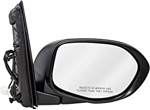 Passengers Power Side View Mirror Textured Replacement for Honda Van 76200-TK8-A41 AutoAndArt
