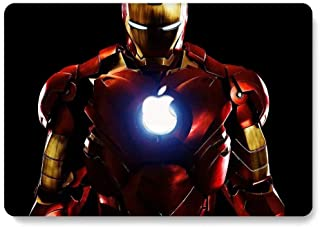 Hard Case for 2016&2017 New MacBook Pro 13 inch Model A1706 / A1708 - AQYLQ Smooth Touch Matte Plastic Rubber Coated Protective Shell Cover - Iron Man