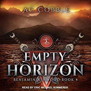 Empty Horizon     Benjamin Ashwood Series, Book 4              Auteur(s):                                                                                                                                 AC Cobble                               Narrateur(s):                                                                                                                                 Eric Michael Summerer                      Durée: 12 h et 20 min     2 évaluations     Au global 4,5