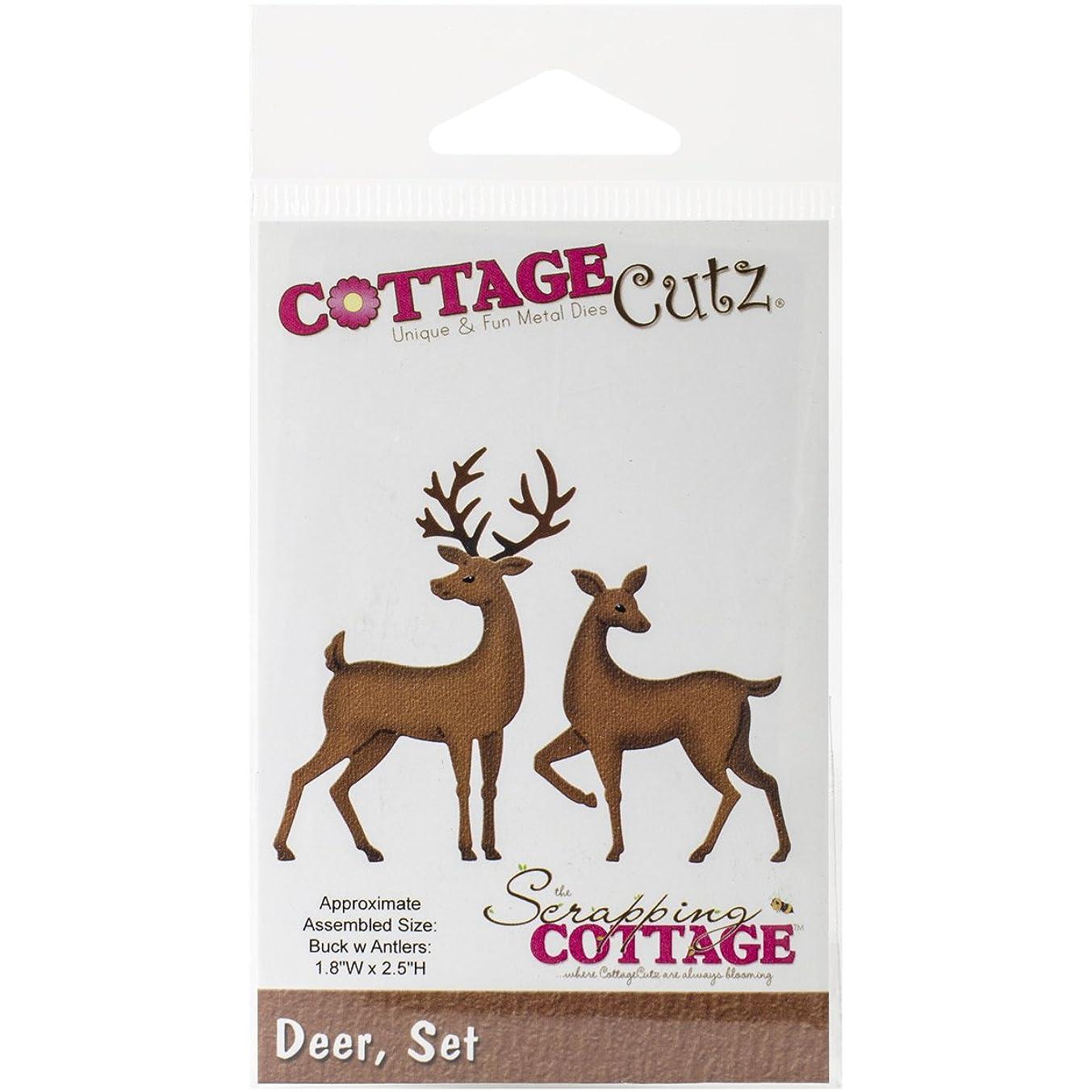 CottageCutz CC016 Deer Set Die