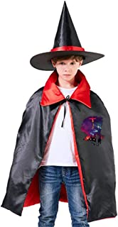 Cowboy Bebop Space Cowboy Unisex Kids Hooded Cloak Cape Halloween Party Decoration Role Cosplay Costumes Outwear Red
