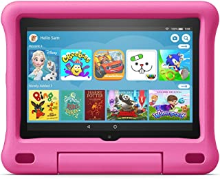 Kid-Proof Case for Fire HD 8 tablet | Compatible with 10th generation tablet (2020 release), Pink