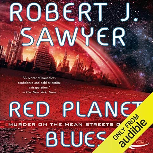 Couverture de Red Planet Blues