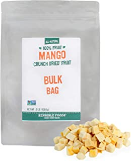 Freeze Dried Mango Tidbits (1/16 inch or less) - 1 lb. Bag