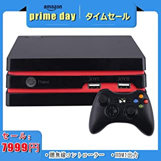 LUCKY アップグレード版 HDMIテレビゲーム機 家庭アーケードゲーム機 MD/Arcade 互換機 ワイヤレスコントローラ 4Kテレビサポート