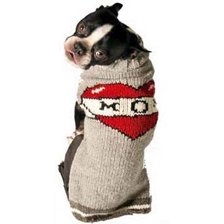 Chilly Dog Tattooed Mom Dog Sweater, XX-Large