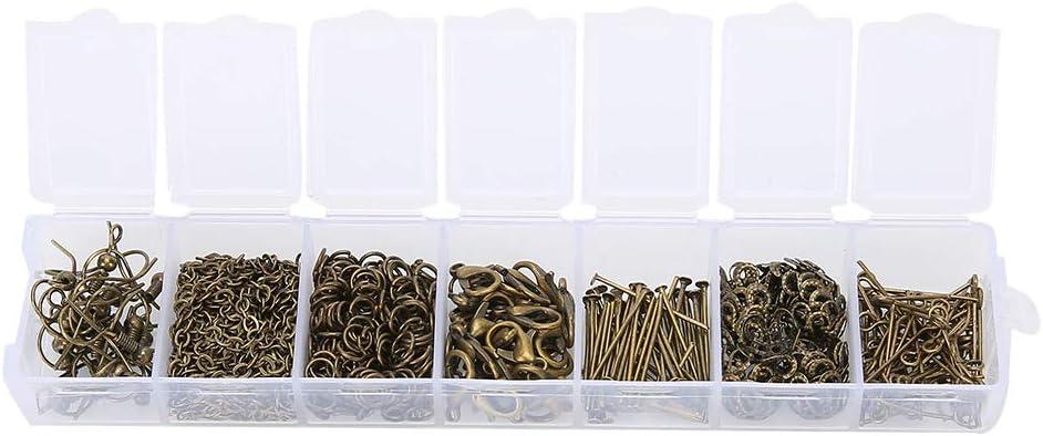 Ranking TOP2 Jewelry DIY Accessory Set 415pcs Neckla Handicraft Max 43% OFF Personalized