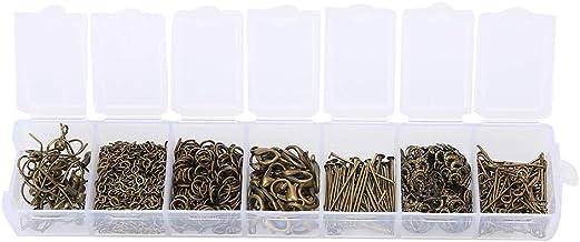 Prachtige gepersonaliseerde ketting DIY accessoire, oorbel haken, brons/goud metaal voor DIY sieraden maken DIY oorbellen(...