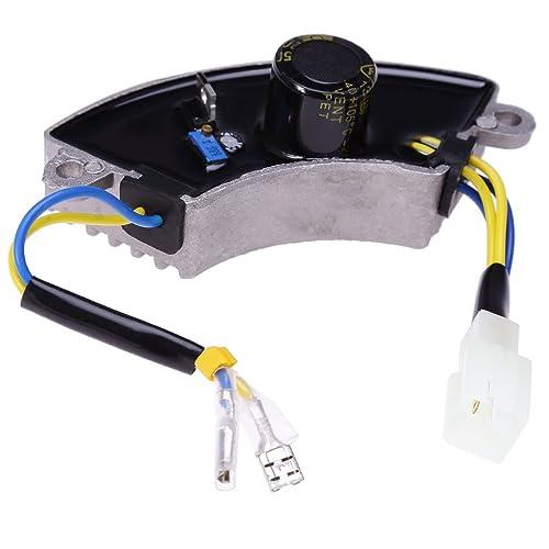 qkparts 3500 watt generator avr automatic voltage regulator rectifier 3 5kw  avr half moon