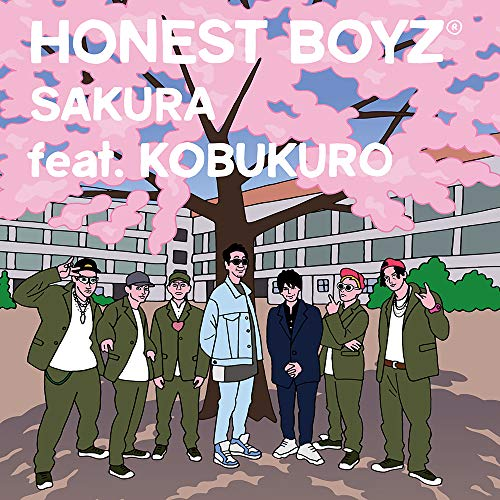 [Single]SAKURA feat. KOBUKURO – HONEST BOYZ(R)[FLAC + MP3]