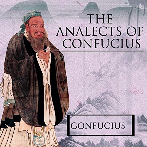 The Analects of Confucius audiobook cover art