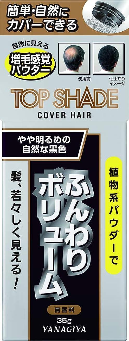 破壊する四効能トップシェード カバーヘアー <やや明るめの自然な黒色> 35g