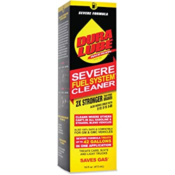 DURA LUBE HL-40199-06 Severe Fuel System Cleaner, 16-Ounce, Single