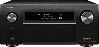 Denon AVR-X8500H 13.2 Channel Home Theater Receiver (Factory Renewed, Black)
