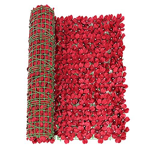 Obestseller Künstliche Efeu Garten Sichtschutz künstliche Hecken Zaun und Faux Ivy Vine Leaf Dekoration für Outdoor-Dekor Garten Sonnenschutz Sichtschutz Windschutz