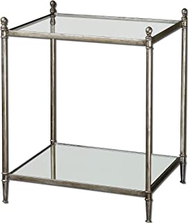 Best uttermost gannon mirrored glass end table Reviews
