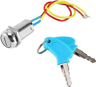 Llave de bloqueo del interruptor de encendido de la moto del scooter de 2 cables para el scooter eléctrico