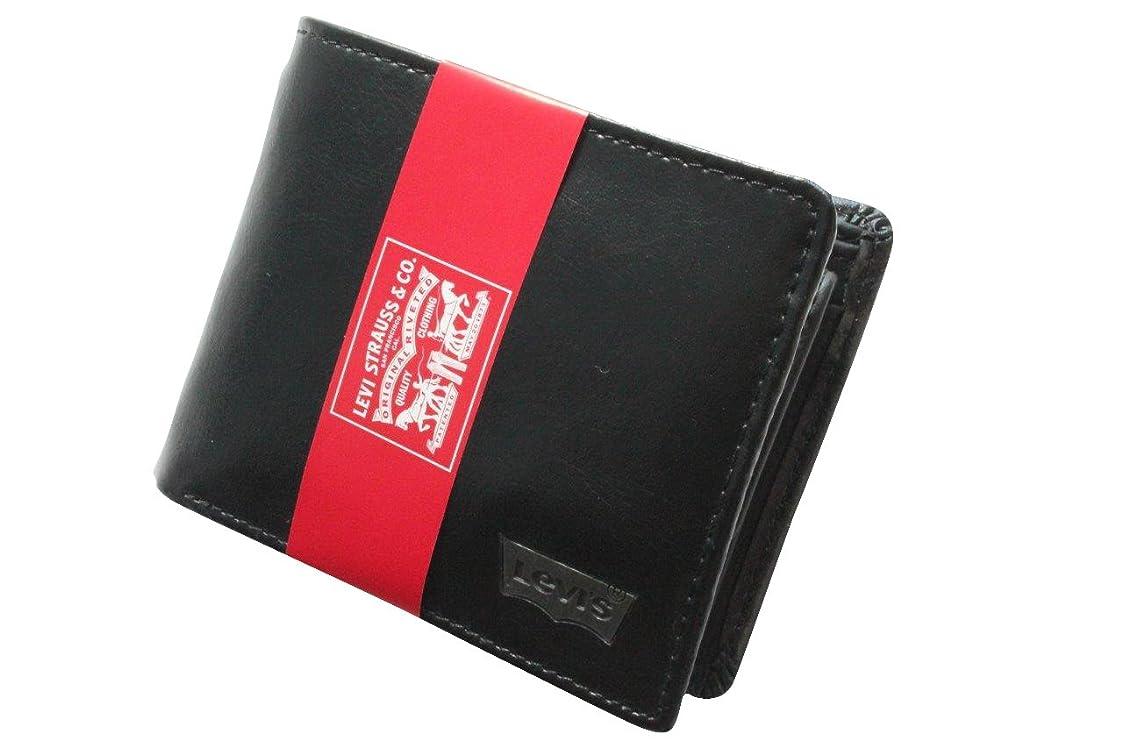 ワックス歌整理する(リーバイス) Levi's 財布 ウォレット メンズ 本革 束入れ 牛革 小銭入れ付 メタルロゴ 2color