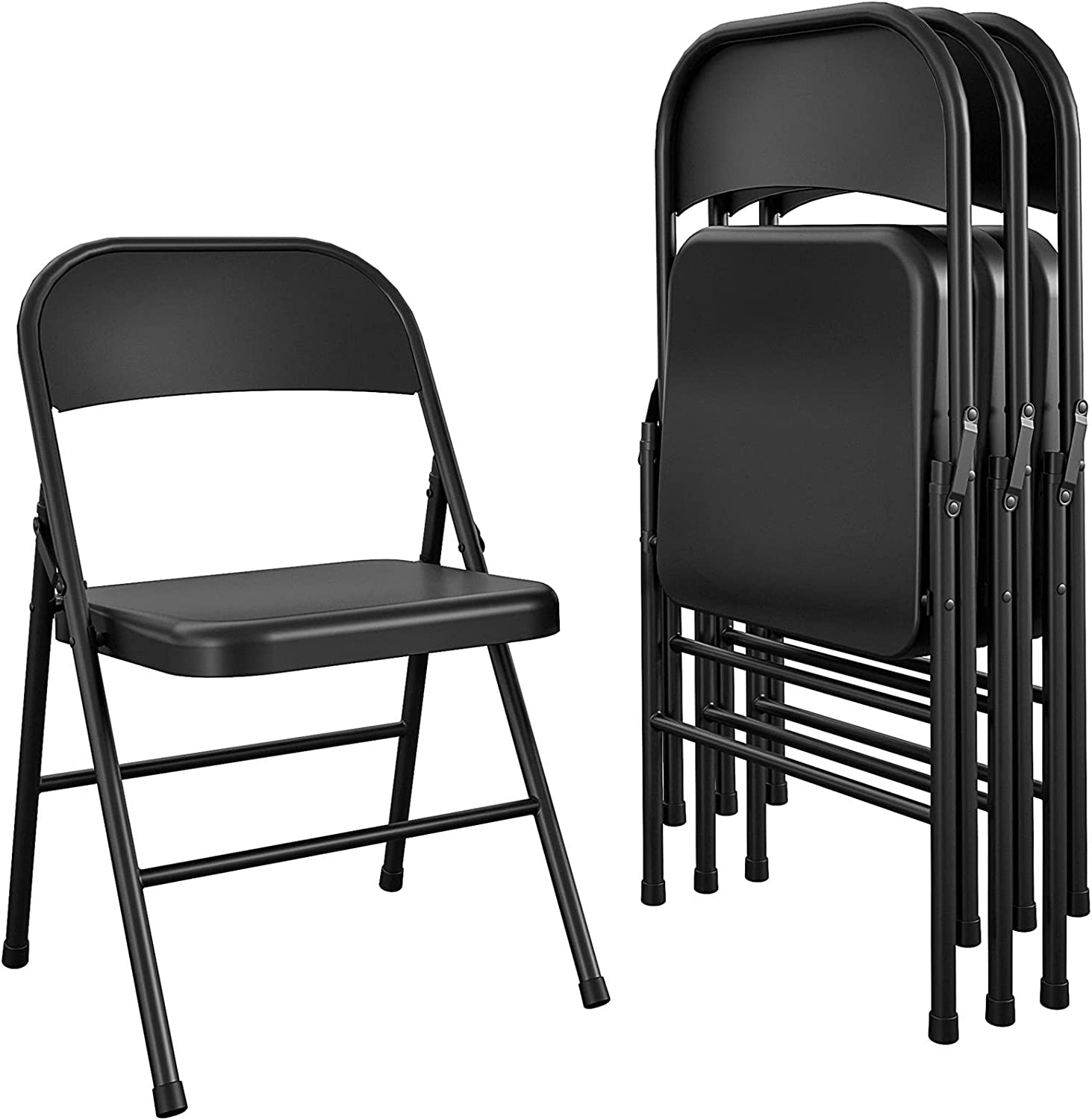 COSCO Essentials All-Steel Metal 25% OFF Folding Doubl Full-Size Chair Our shop most popular