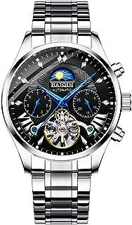 Luxury Automatic Mechanical Watch for Men, Waterproof Wrist Watch Full Stainless Steel Watch Self-