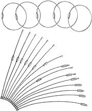 yeemeen 20 STKS Multifuction Roestvrij Staal Draad Sleutelhanger Kabel Sleutelhanger Met Gear 1.5x15cm Sleutelhanger Loops...