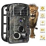 LESHP Caméra de chasse 1080P 12MP pour chasseur- Vision nocturne...