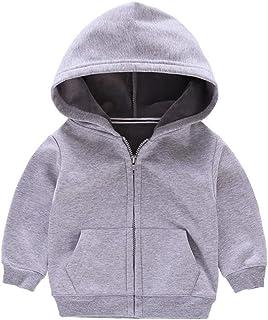 Fairy Baby Kids Winter Outfit Children Solid Fleece Sweatshirt Hooded Outwear Jacket