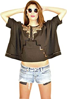 Hipster Arb3Cbl-L Blouse Top For Women - L