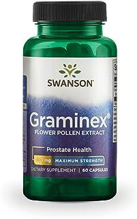 Swanson Max-Strength Graminex Flower Pollen Ext 500 Milligrams 60 Capsules