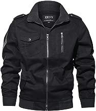 Hot Sale !!! Teresamoon Men's Autumn Winter Military Clothing Zipper Pocket Tactical Breathable Coat