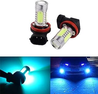 ATMOMO 2 PCS Car H8 H11 33-SMD LED Xenon Head Light Headlight Bulbs Lamp or Daytime Running Lights Lighting DRL 12V 7.5W -...