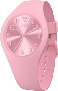 Ice-Watch - Ice Colour Ballerina - Montre Rose pour Femme avec Bracelet en Silicone - 017915 (Small)