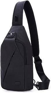Sling Bag Pack, Chest Shoulder Crossbody Hiking Backpack Sport Bicycle Rucksack School Daypack for Men Women T609