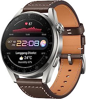 HUAWEI Watch 3 Pro 55026781 Smartwatch, Brun, 46 mm
