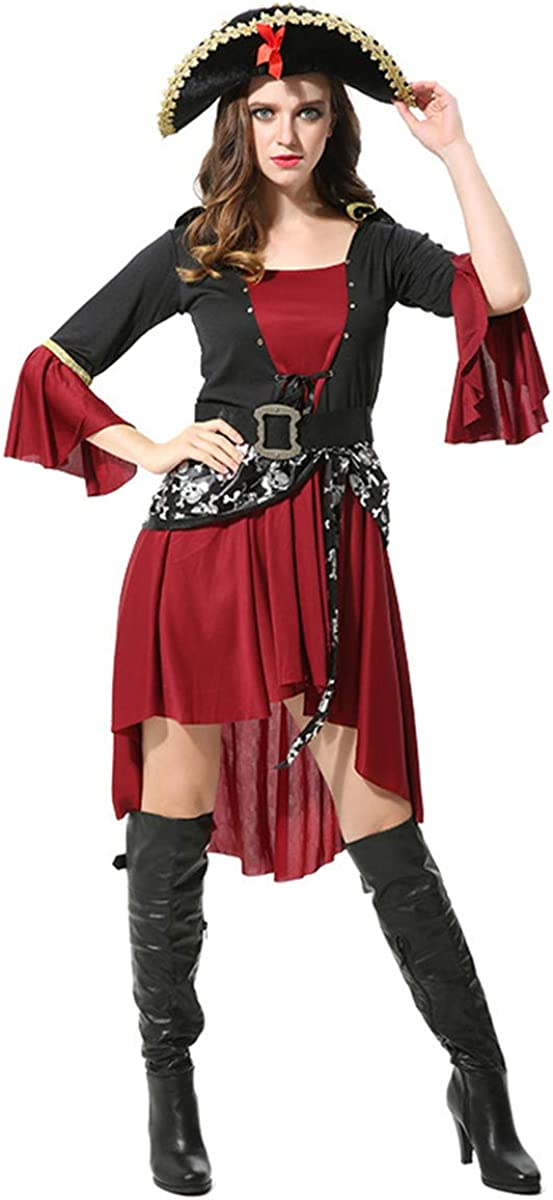 THEE Woman Pirate Some reservation Costume famous Halloween Cosplay