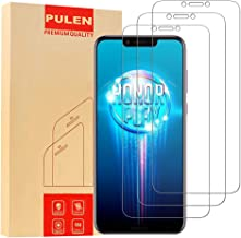 [3-Pack] PULEN for Huawei Honor Play Screen Protector, 0.3MM Slim HD Anti-Fingerprints Anti-Scratch Bubble Free 9H Hardnes...
