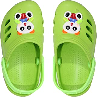 Confidence Travelling Summer Clogs for Kids Boys and Girls (Multi Color)