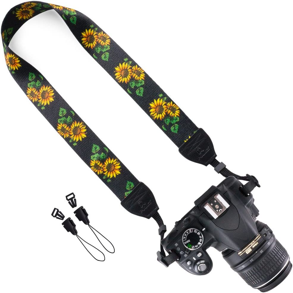 Wolven Camera Free shipping anywhere in the nation Neck Shoulder Belt SLR Strap Price reduction with DSLR Compatible