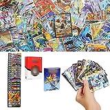 YNK Cartes de Jeu, Ensemble de figurines Cartes GX, Vmax, V Cartes, Cartes à Collectionner, Jeu de Carte Amusant Jeu de Carte pour Enfant