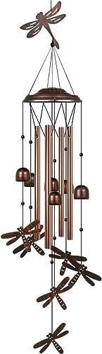 HANGOU libellule A Vent Papillon Carillons A Vent De Jardin Pour La Décoration Intérieure Extérieure Adaptés A La Déc...