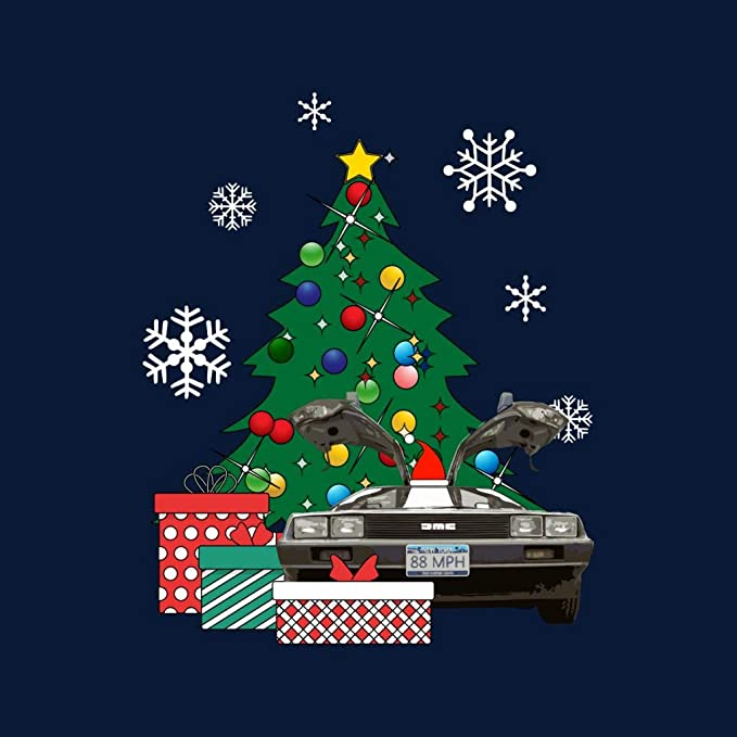 Cloud City 7 Christmas Tree Sherlock Holmes Womens Sweatshirt