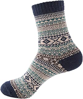 Cachemire Automne Ethnique Chaud Hommes Chaussettes Hommes Lapin Laine Laine Chaussettes Épaisses