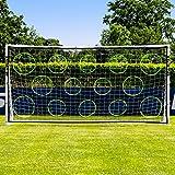 FORZA Mur de Tir pour Buts de Football (Poteaux Pas Inclus) (3,7m x 1,8m)