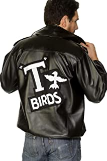 Mens Grease T-Birds Jacket Stag Do Night Party Film Movie Fancy Dress Costume Outfit