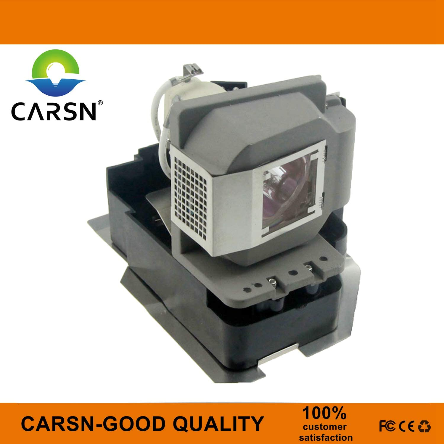 VLT-XD520LP Replacement Projector Lamp for Mitsubishi EX53E EX53U XD500U-ST XD520U XD520 XD530U, Lamp with Housing by CARSN