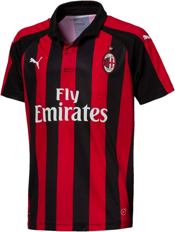 PUMA 2018-2019 AC Milan Home Jersey Football Soccer T-Shirt Kid Super Super popular specialty store popular specialty store