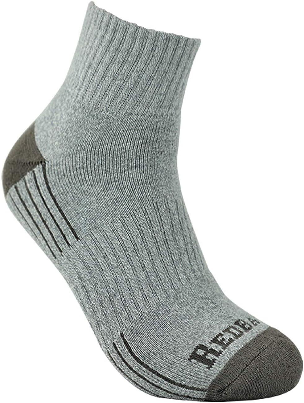 6 Pack Redback Boots Everyday Quarter Ankle Sock LIGHT GREY