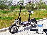 Viron Elektro Scooter 1000 Watt E-Scooter Roller 36V / 1000W Elektroroller V.7 (schwarz)